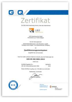 LS-Industrieservice-QM-Zertifikat-2021